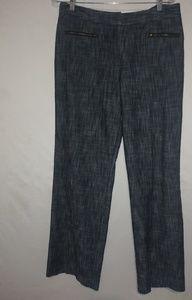 Larry Levine Black Stretch Pants Sz 14 Plus